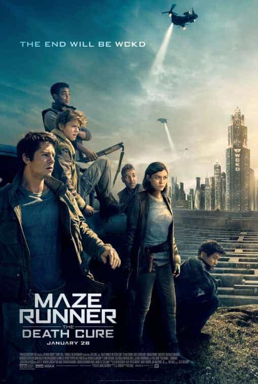 US Box Office Weekend 26 January 2018: Maze runner finds its way to the top