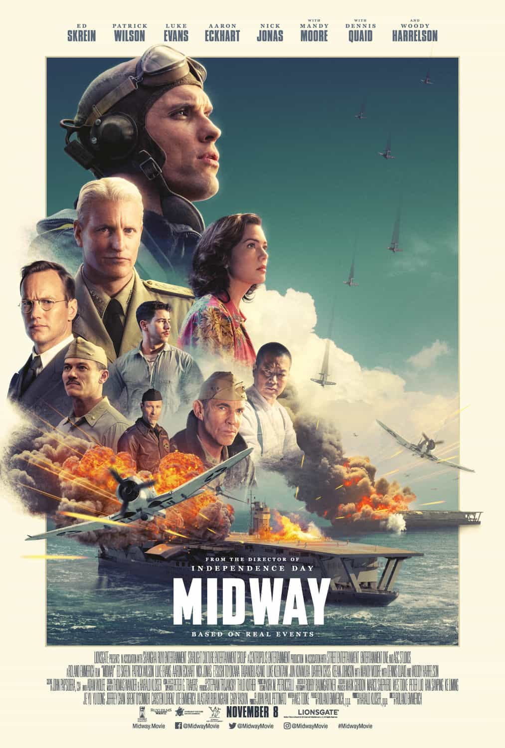 UK box office preview for weekend Friday, 8th November 2019 -  Midway, The Irishman, Better Days, The Good Liar, Luce, Arctic Dogs, Driven and The Aeronauts