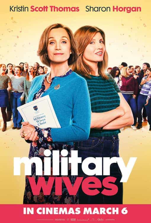 Military Wives is given a 12A age rating in the UK for infrequent strong language, moderate sex references