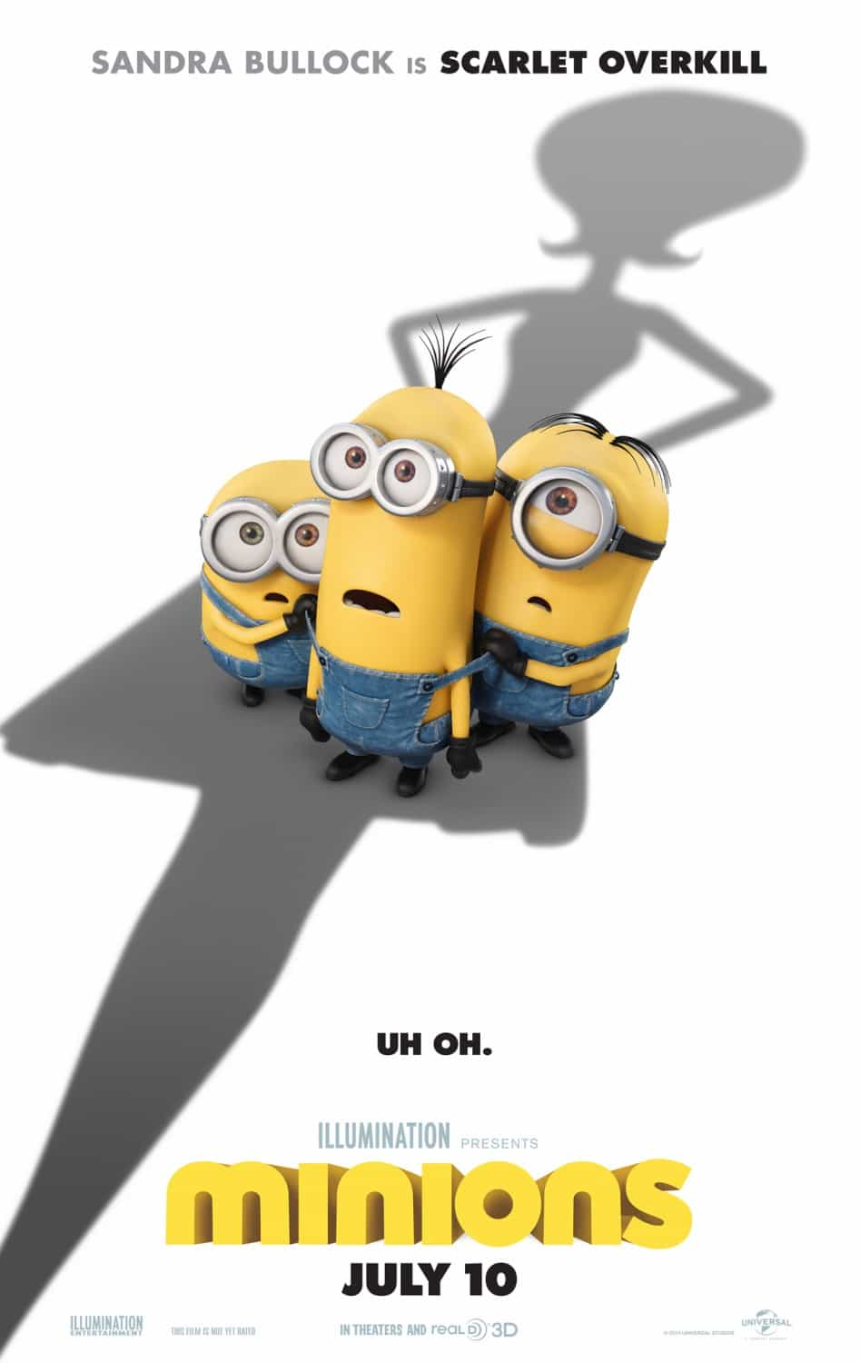 Historical UK Box Office - Minions (2015), Yesterday (2019), Get Him To The Greek (2010)