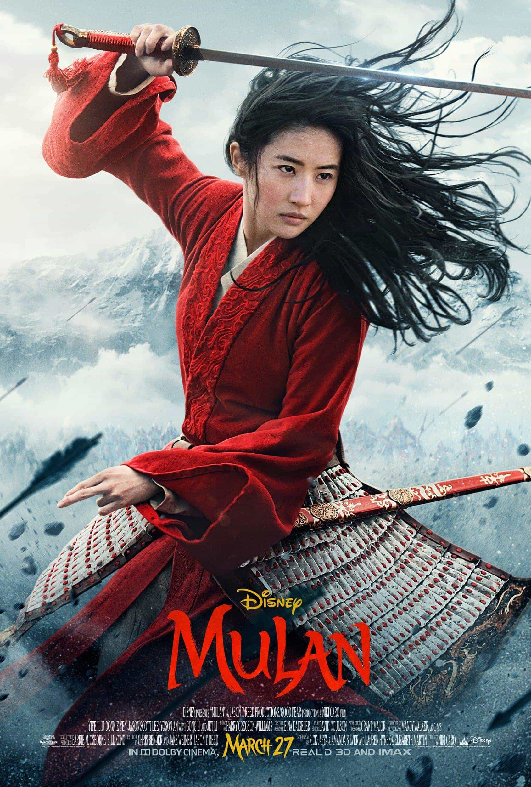 Disney announce Mulan live action will be released on Disney+ in America