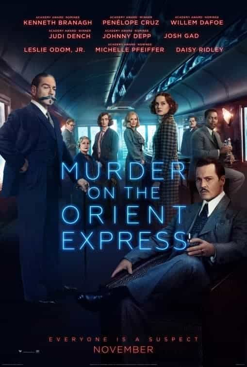 BBFC give Murder on The Orient Express a 12a rating for moderate violence, occasional bloody images