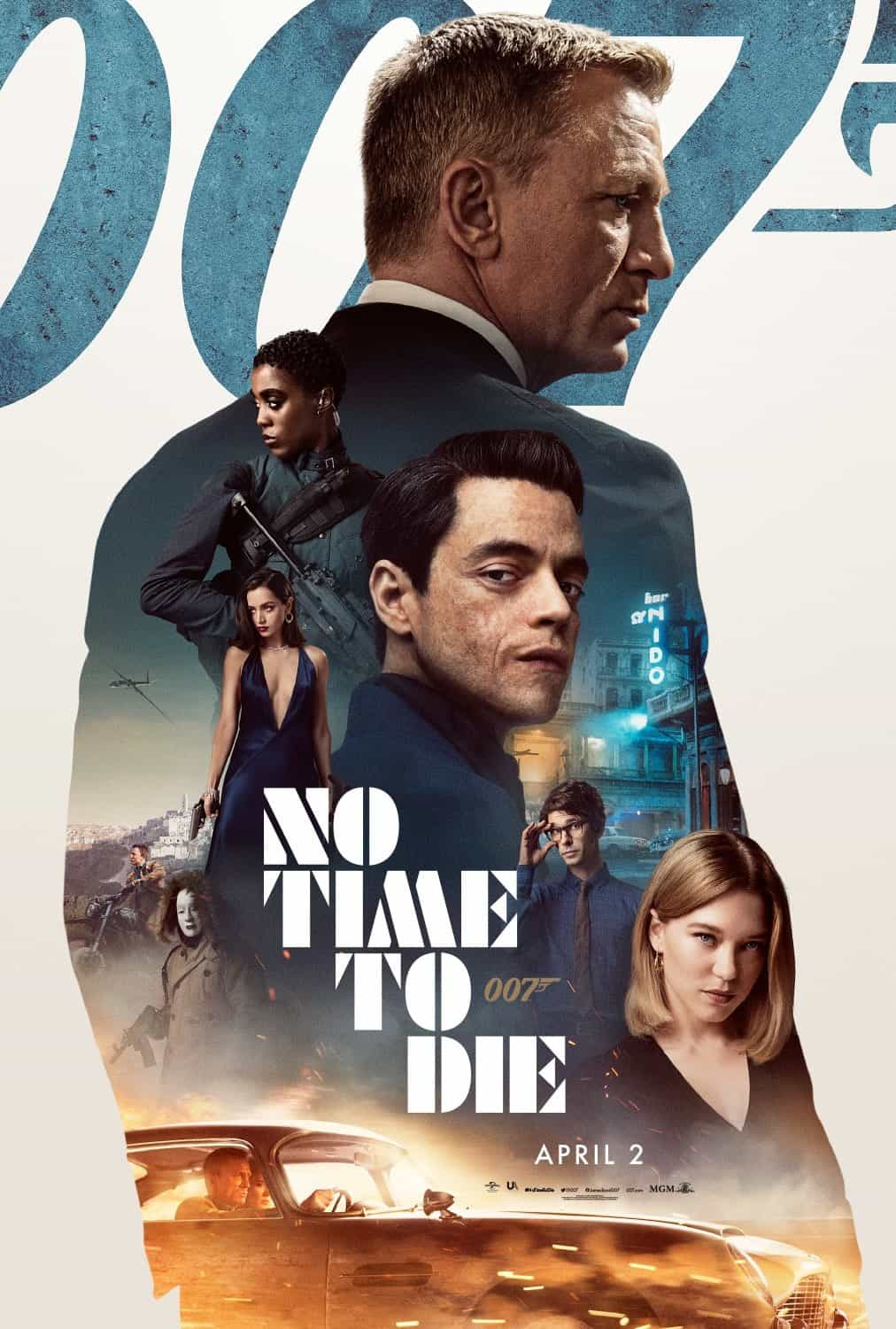 No Time To Die gets moved, again, from April 2nd to October 8th