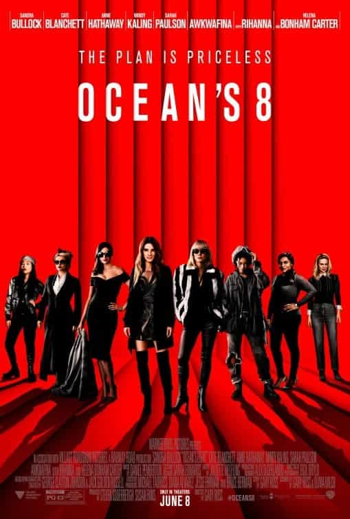 First trailer for sequel/reboot/equal Oceans 8 staring Sandra Bullock and Cate Blanchett among others