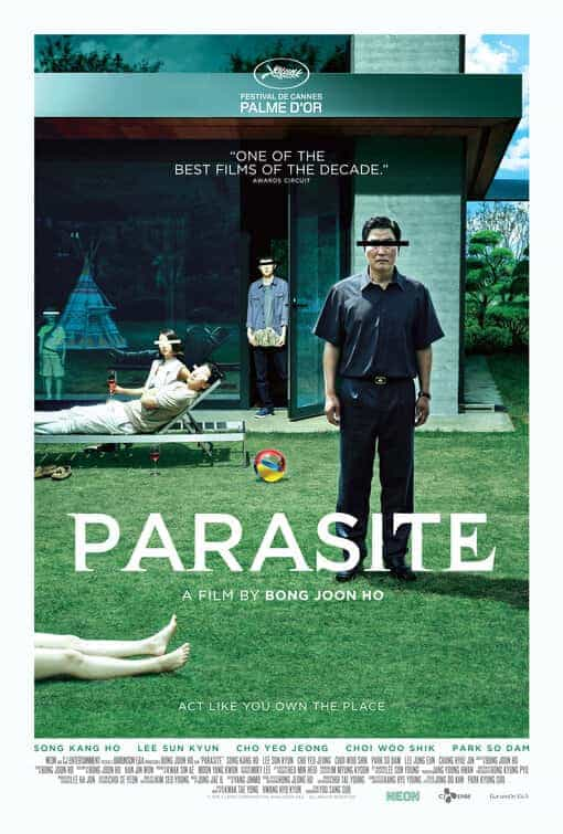 Joon-ho Bong film Parasite has been given a 15 age rating in the UK for strong bloody violence, language, sex, sex references