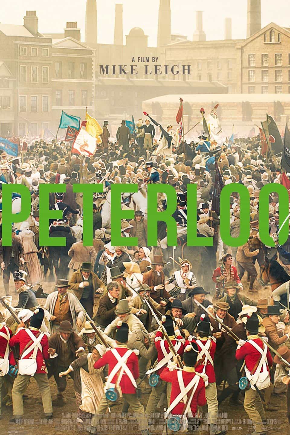Peterloo, directed by Mike Leigh, gets a 12A rating for moderate violence, language