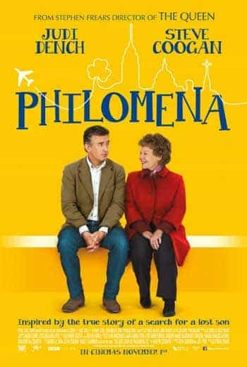 UK Blu-ray/DVD sales 30th March:  Philomena at the top