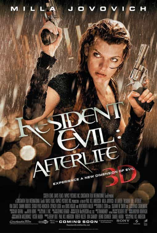 Historical UK Box Office - Resident Evil: Afterlife 2010, Legend 2015, The Longest Yard 2005