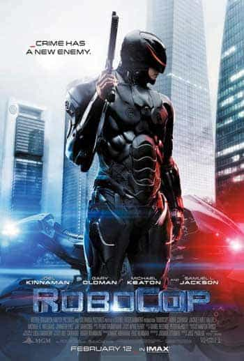 UK home entertainment report 15th June: Robocop remake tops the chart