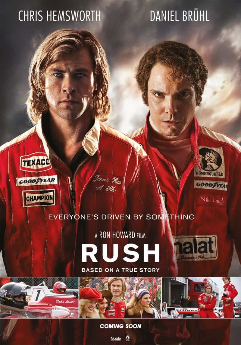 UK Box Office Report 20 September:  Rush climbs to the top