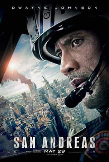 UK Box Office Results 29th May 2015:  The Rock rolls to the top with San Andreas