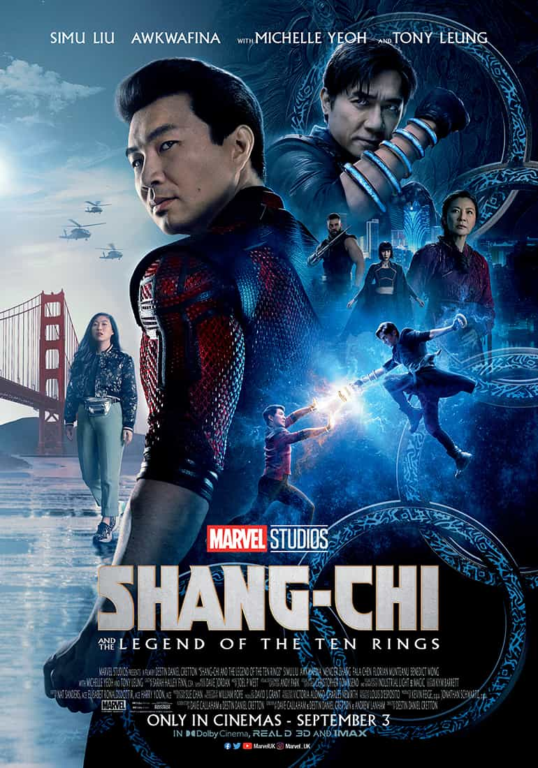 First trailer and poster for Shang Chi and the Legend of the Ten Rings from Marvel and Disney