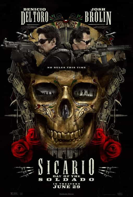 Highest new film Sicario 2 Soldado