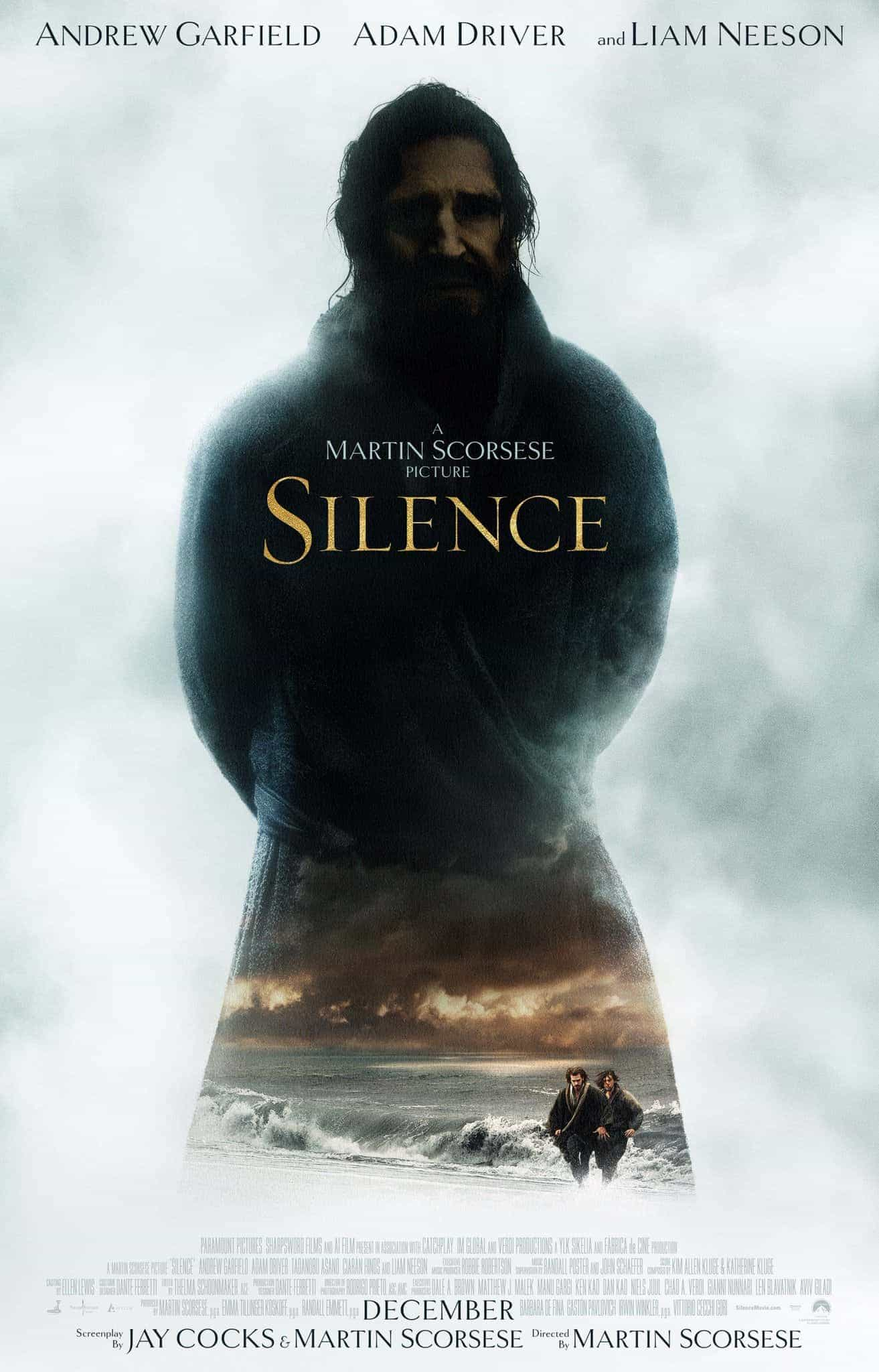 New poster for Silence directed by 