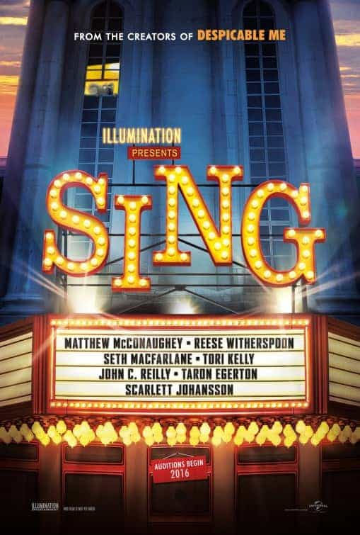 UK Box Office Weekend 27th January 2017:  Sing is on tune at the top of the UK box office on its debut