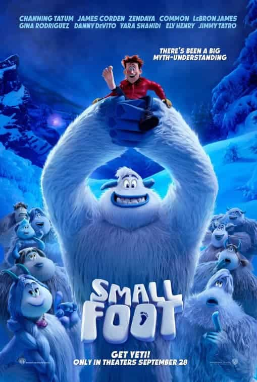 World Box Office Weekending 30th September 2018:  Smallfoot tops the global box office with a $37 million week gross