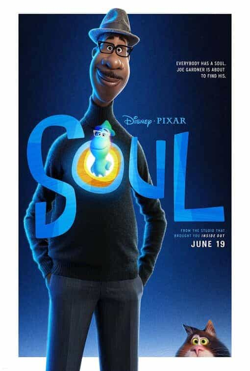 First trailer for Disney/Pixar new movie Soul starring the voices of Jamie Foxx and Tina Fey, movie released in the UK 19th June 2020
