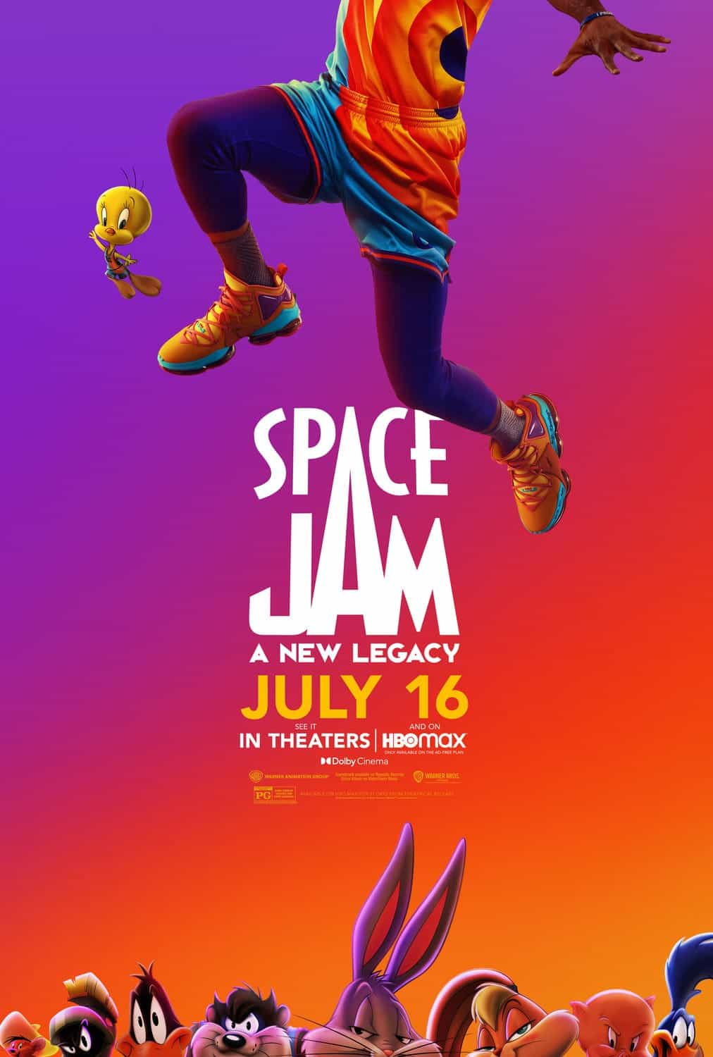 LeBron James and Bugs Bunny star in the first trailer for Space jam: A New Legacy