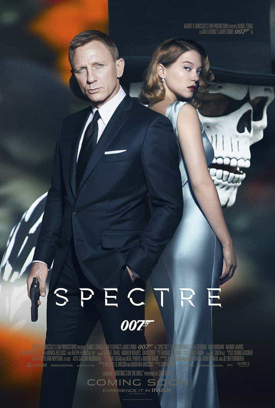 Spectre is the title of the new Bond film.