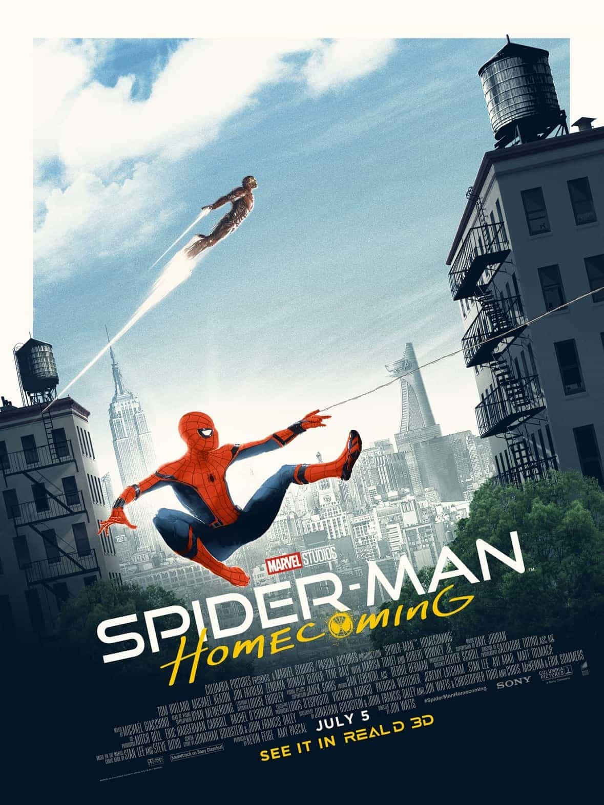 Spider-Man Homecoming gets a UK 12A certificate