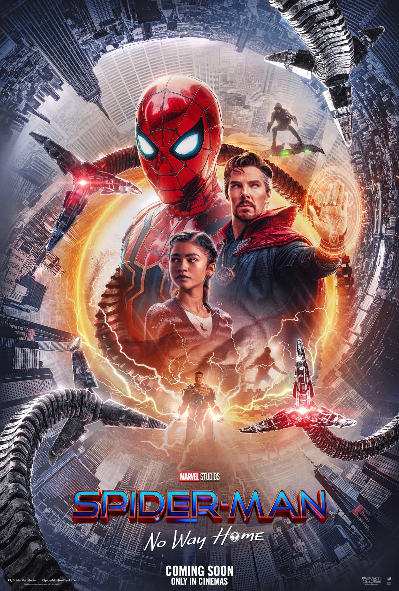 The third film in the Marvel Cinematic Universe Spider-Man series will be called Spider-Man: No Way Home