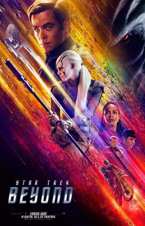 US Box Office Weekend 22 July 2016:  Star Trek Beyond makes its debut at the top