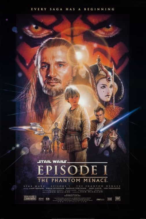 Star Wars Episode 1 3D theatrical release 2012