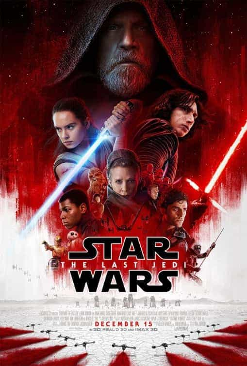 New trailer and poster for Star Wars: The Last Jedi, release date December 15th