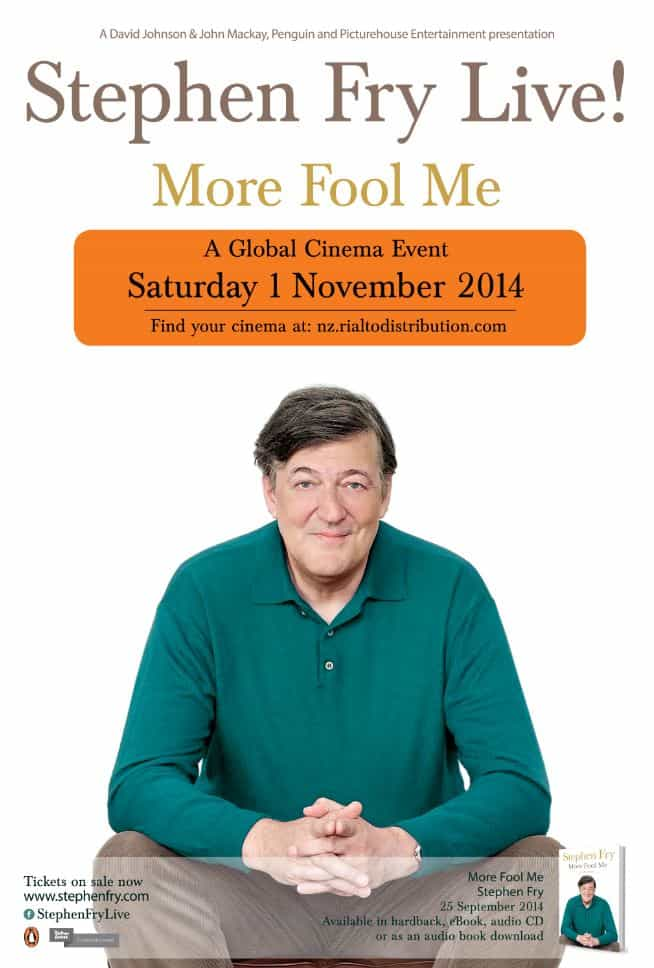Stephen Fry Live! More Fool Me 2014