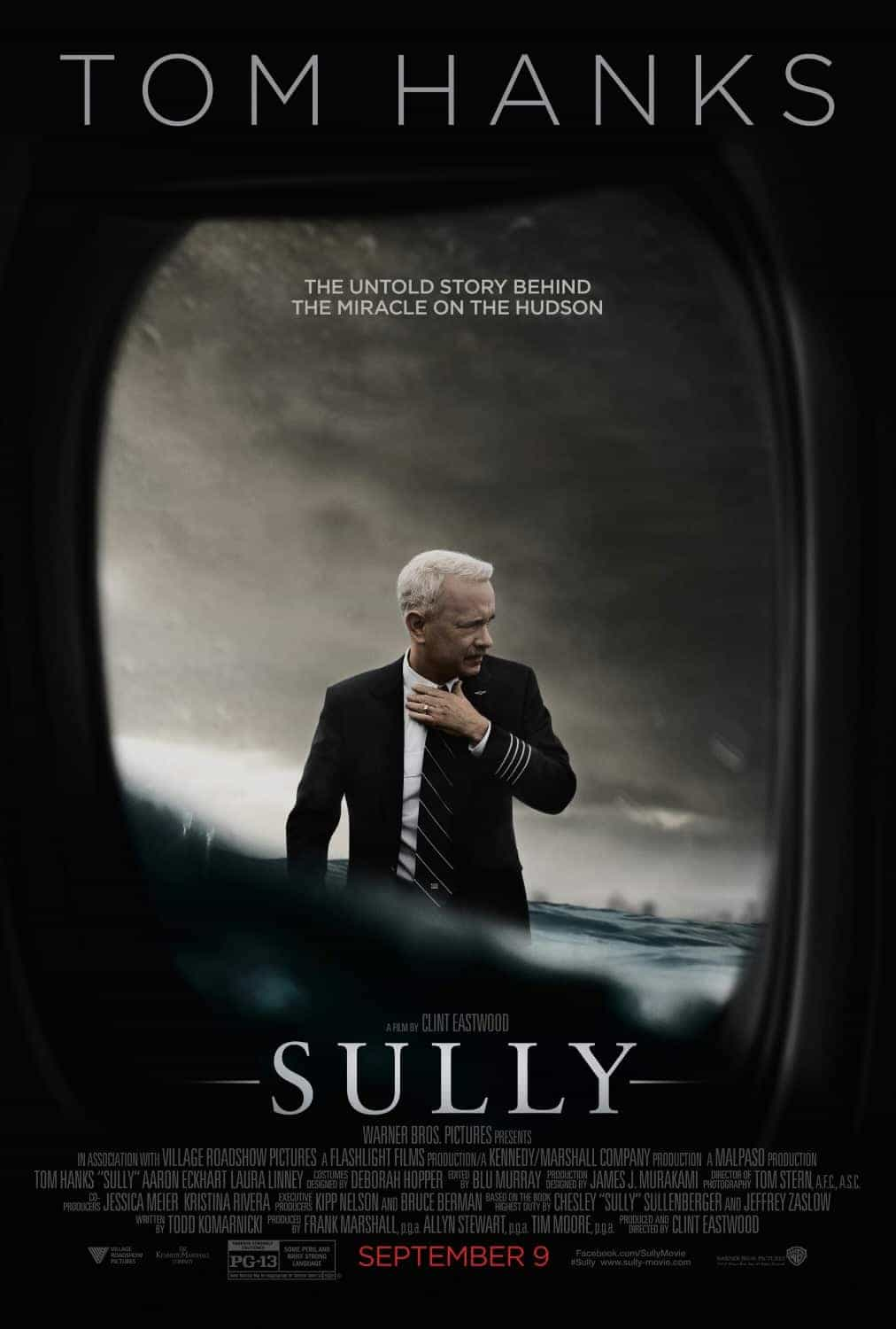 US Box Office Weekend 9 September 2016:  Hanks and Eastwood take Sully to the top