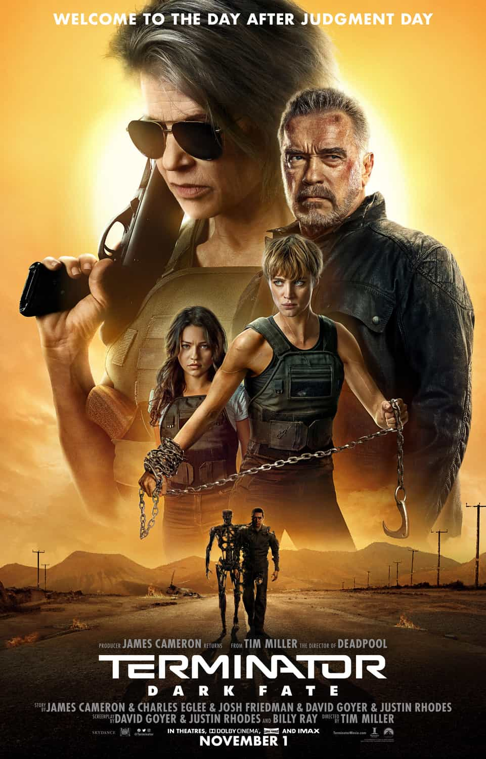 World Box Office Analysis 1st - 3rd November 2019:  Terminator: Dark Fate tops the global box office but its worrying for the franchise