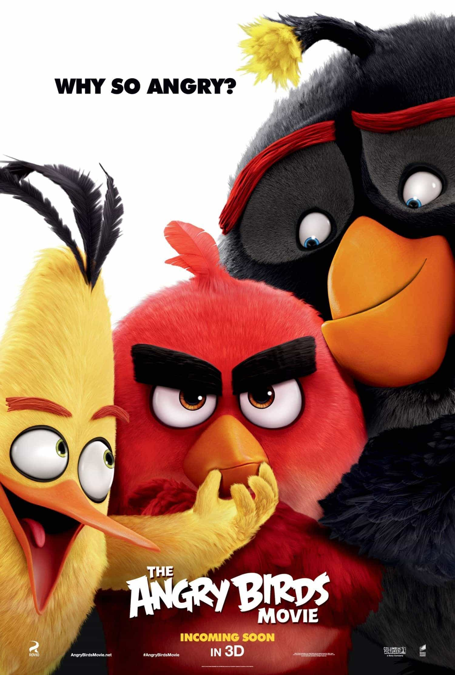 UK Home Video Charts Weekending 23 October 2016:  Angry Birds fly to the top
