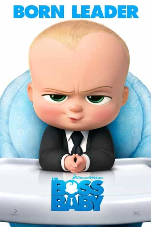 US Box Office Weekend 31st March:  Boss Baby manages Beauty off the top spot on its debut