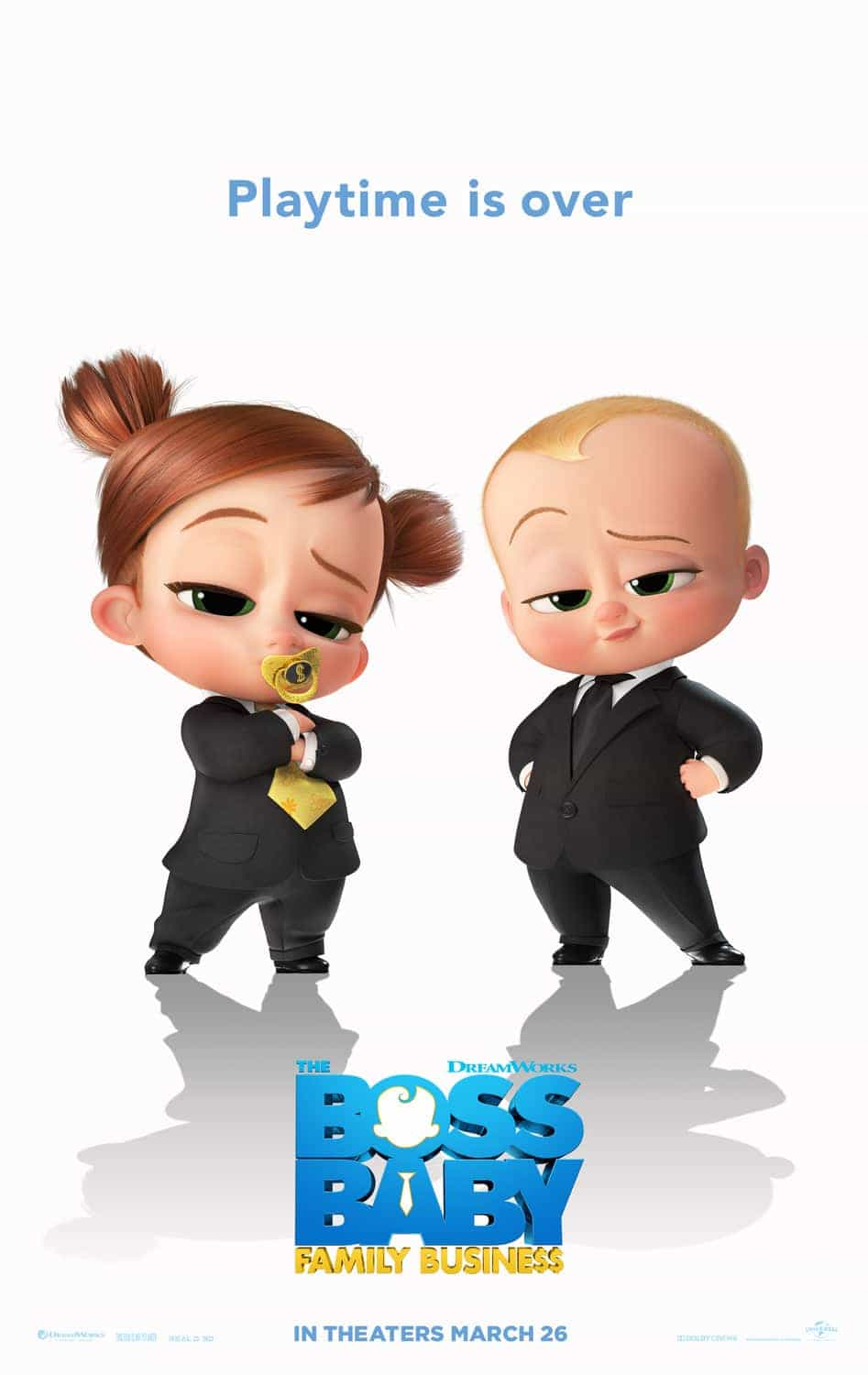 The Boss Baby 2: Family Business is given a PG age rating in the UK for mild bad language, violence, threat