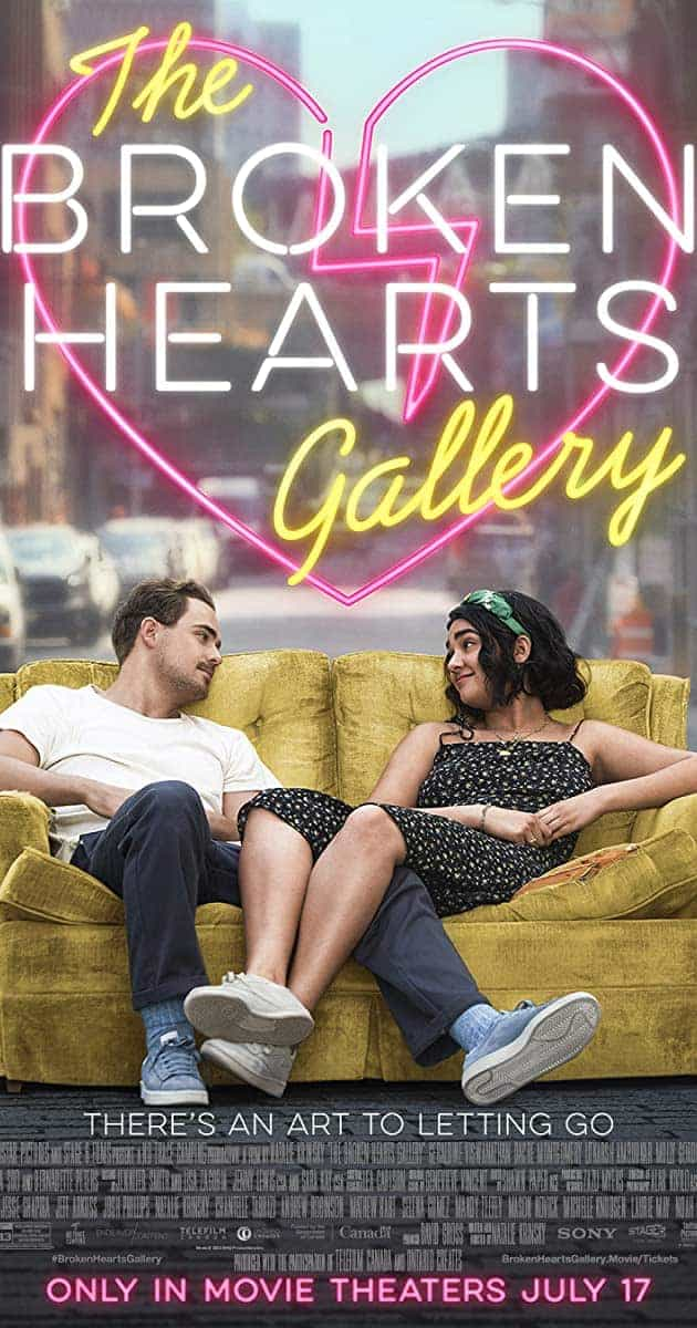 New movie releases in the UK for weekend Friday, 11th September 2020 - The Broken Hearts Gallery, The Roads Not Taken and The Painted Bird