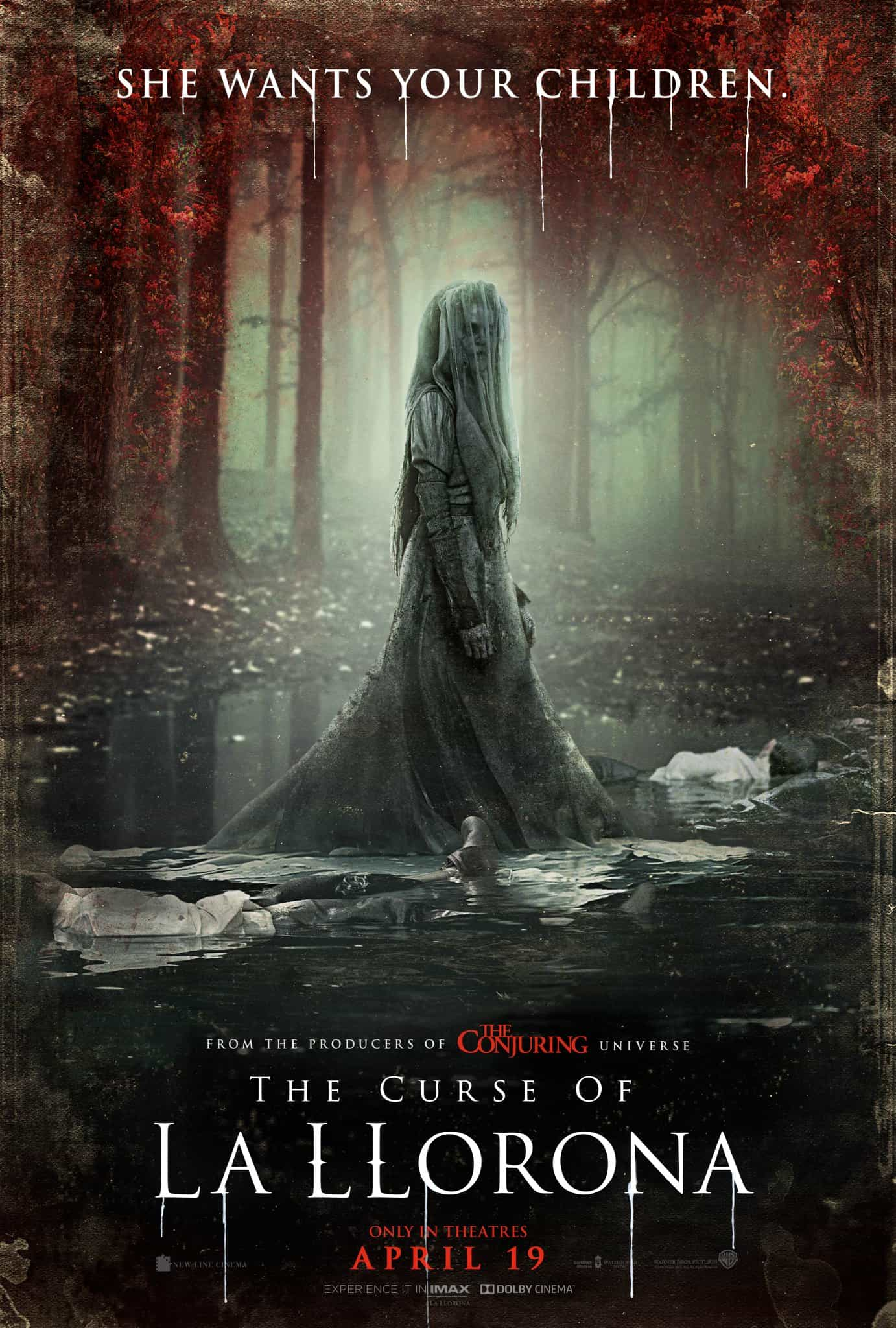 US Box Office Weekend 19 - 21 April 2019:  Audience go for the scares of The Curse Of La Llorona on its debut weekend