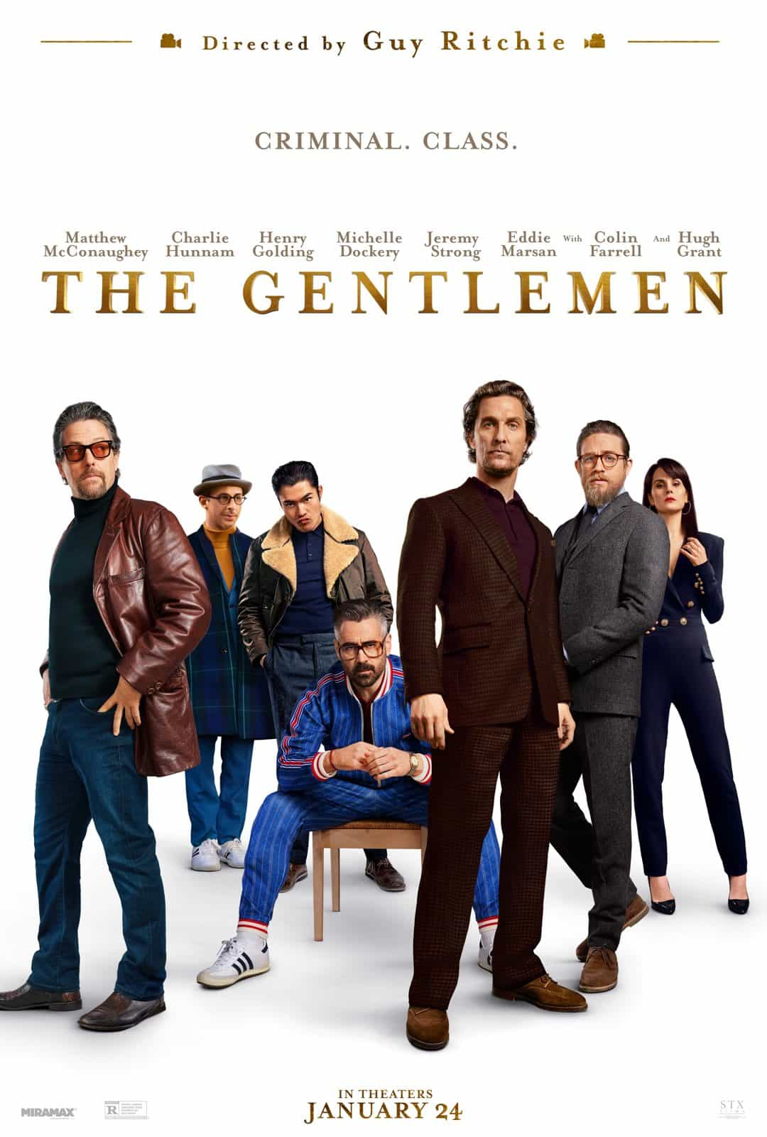 Guy Ritchie goes back to his roots in the first trailer for The Gentlemen