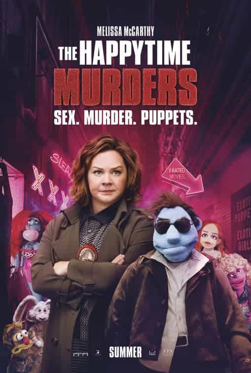 The BBFC gives The Happytime Murders a 15 certificate for strong sex references, language