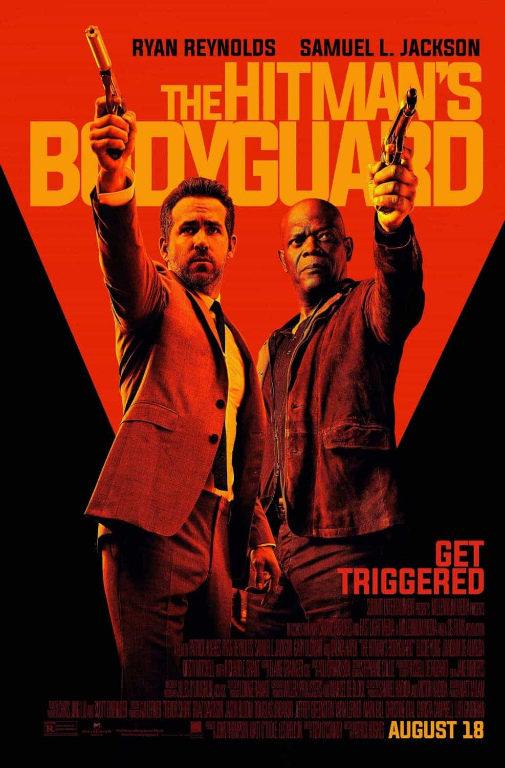 US Box Office Weekend starting 1st September 2017:  Labour Day weekend and no one went to the cinema, The Hitmans Bodyguard remains at the top