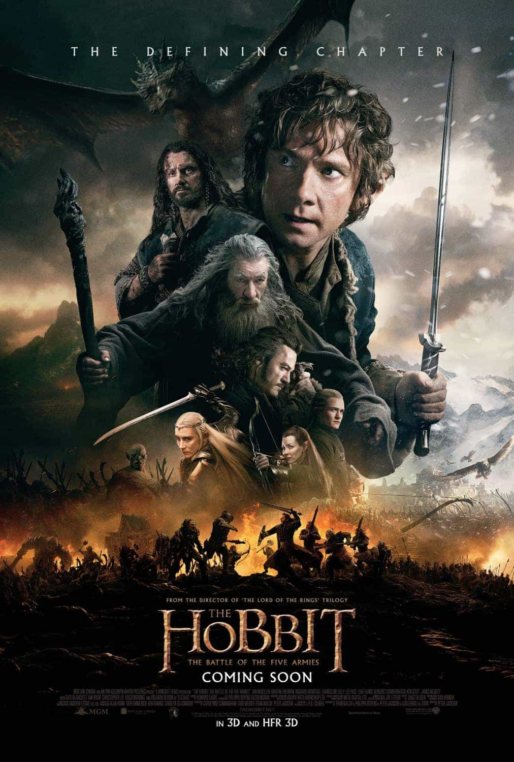 First look at Comic Con poster for The Hobbit: The Battle of the Five Armies
