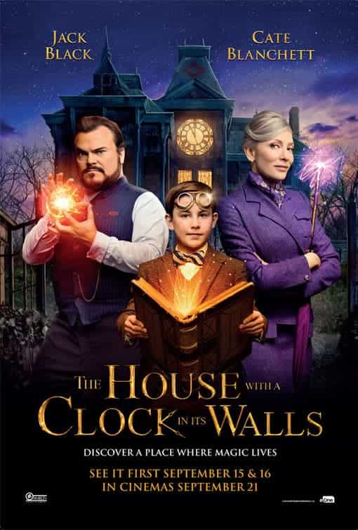 The House With A Clock In Its Walls gets a 12A certificate in the UK for moderate threat, scary scenes