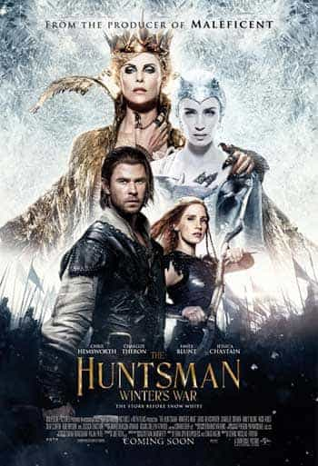 UK Home Video Charts Weekending 21 August 2016:  The Huntsman makes debut at the top