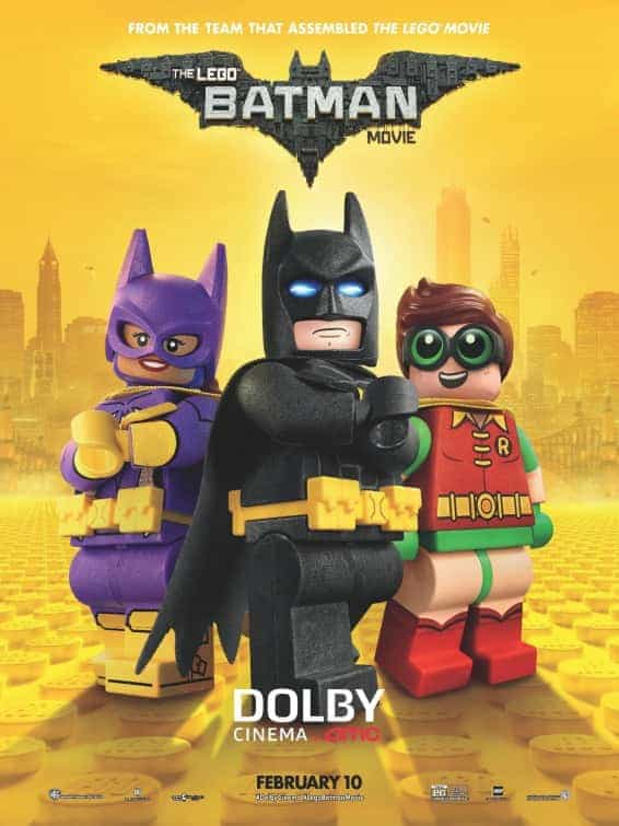 UK Box Office Weekend 10th February 2017:  Lego Batman beats Fifty Shades to the top spot