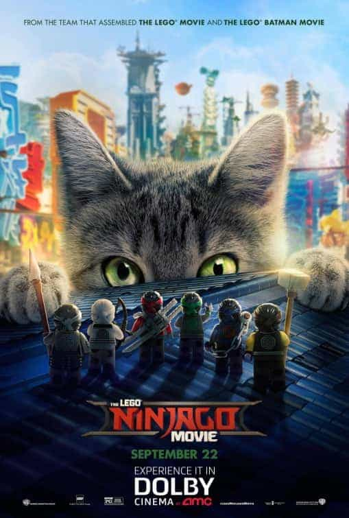UK Box Office Weekend 13th October 2017:  Lego Ninjago takes the top on its debut weekend with $3.6 million