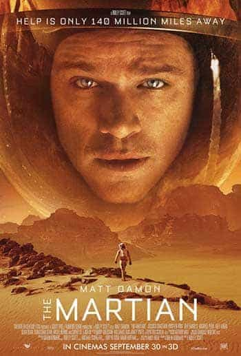 US Box Office Report Weekending 4th October 2015:  The Martian gets left at the top
