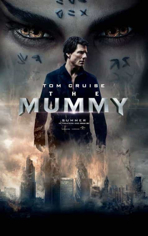 New trailer for the Tom Cruise starring The Mummy re-boot