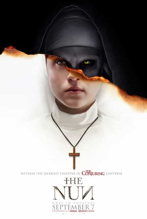 The Nun is given a 15 certificate in the UK for strong supernatural threat, horror, injury detail
