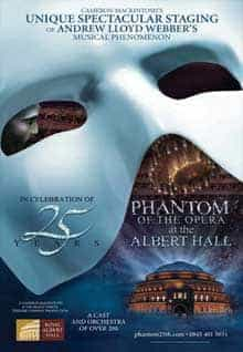 The Phantom Of The Opera 25th Anniversary Concert