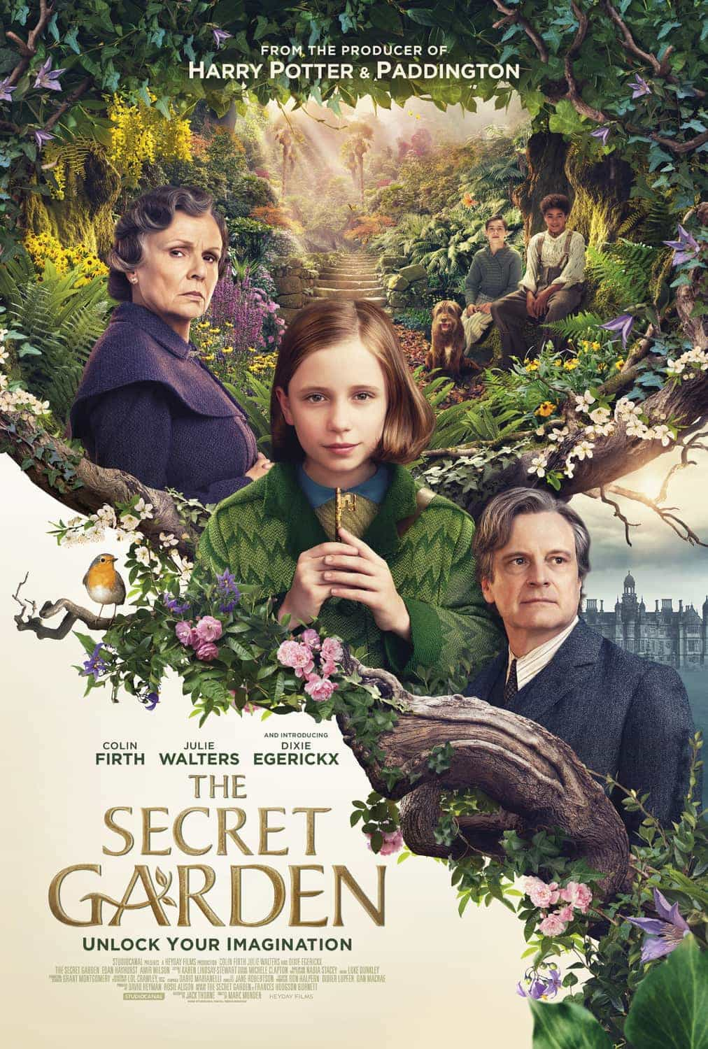 UK Box Office Figures 13th - 15th November 2020:  The Secret Garden jumps to the top of the UK box office on its 4th week of release