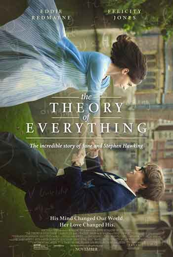 UK box office report 2nd January 2015:  Stephen Hawking bio-pic is the first number 1 film of 2015